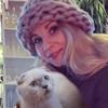 Testimonial - Anna and Scottish Fold lilac point cat Atalanta of Simba Iceberg (Donetsk, Ukraine)